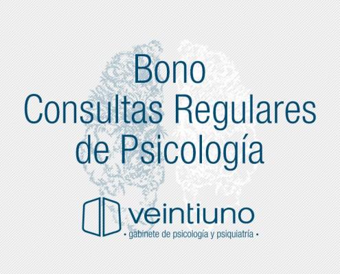 Bono Consultas Psicología